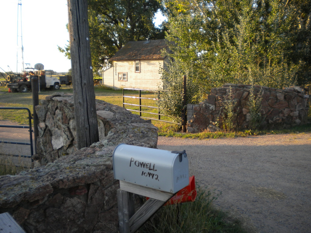 old entryway