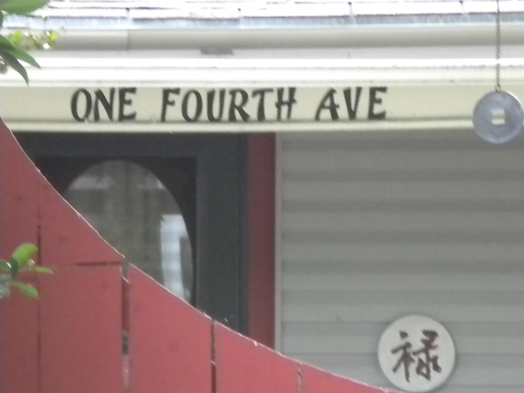fractional street name??!?