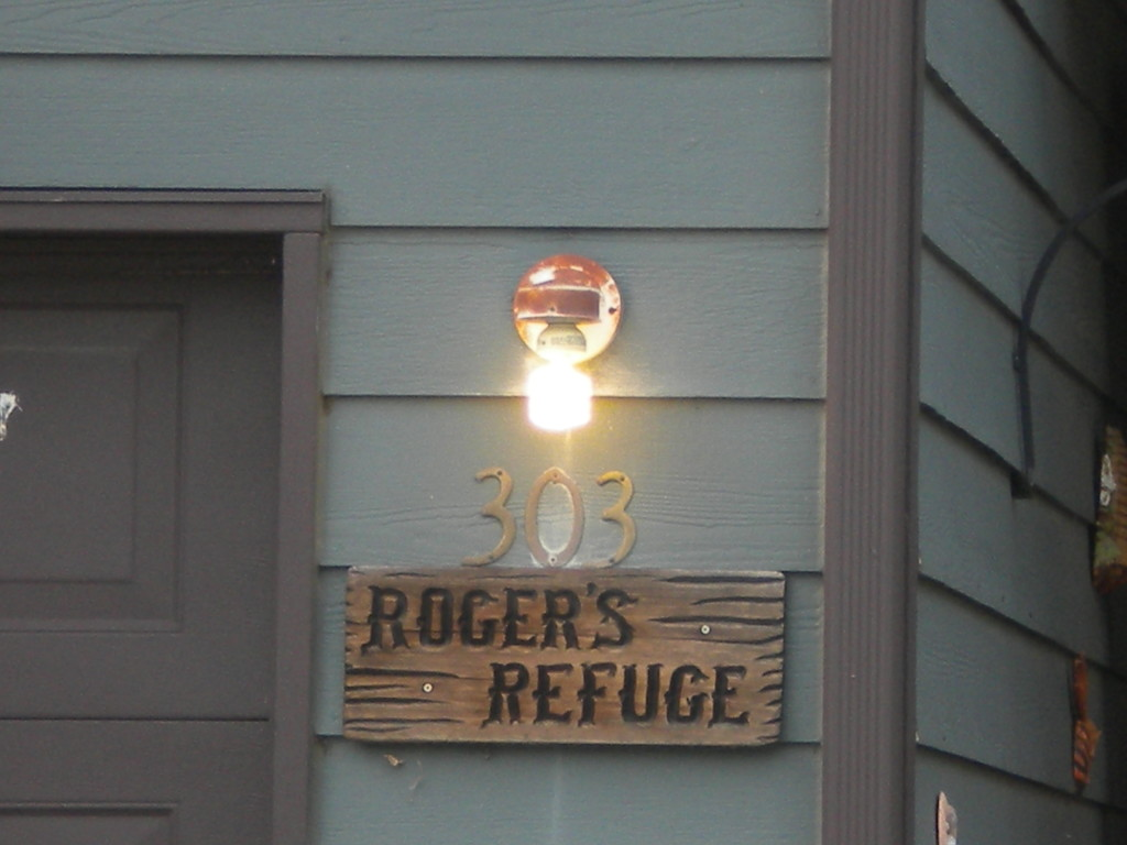 Roger'll leave the light on for you