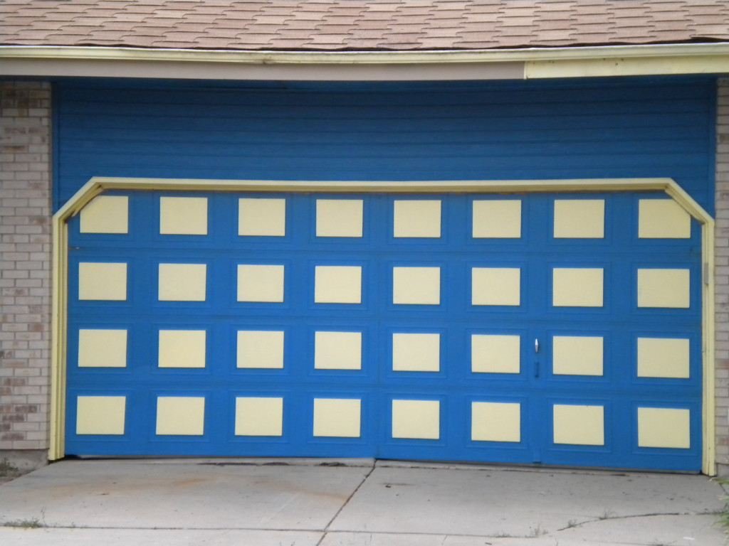 I like this garage door