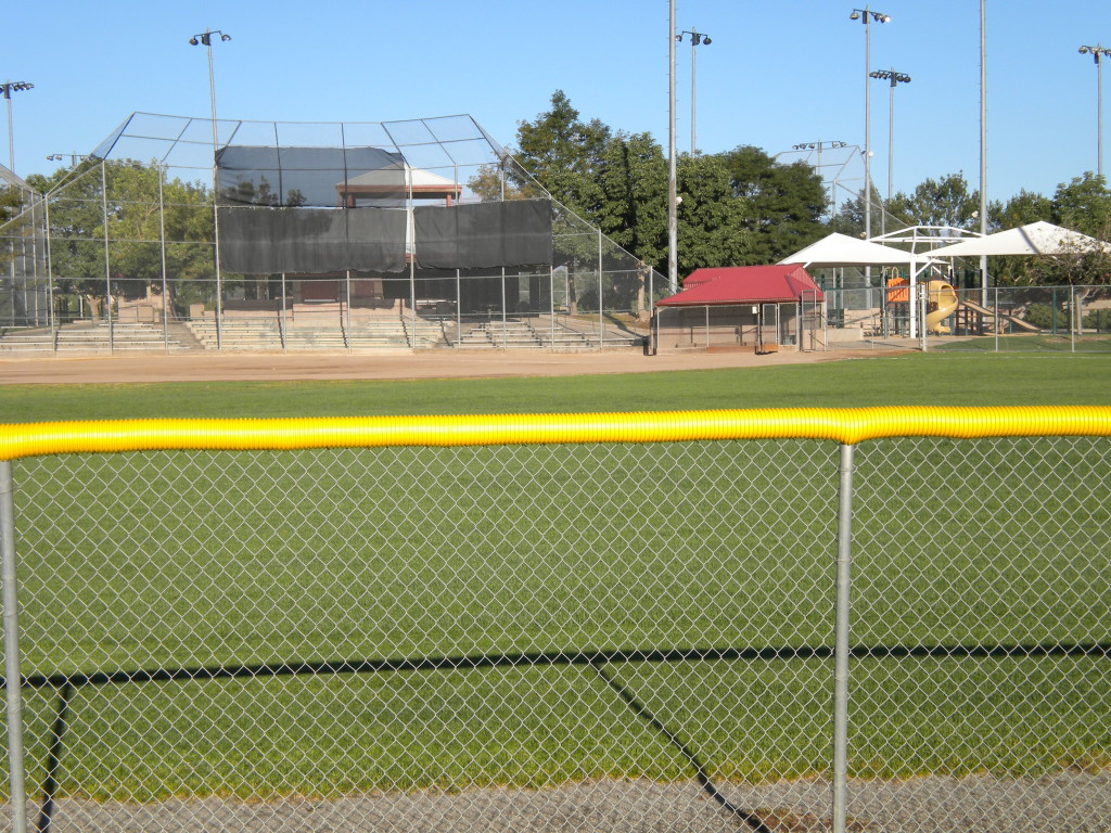ball fields from the east side