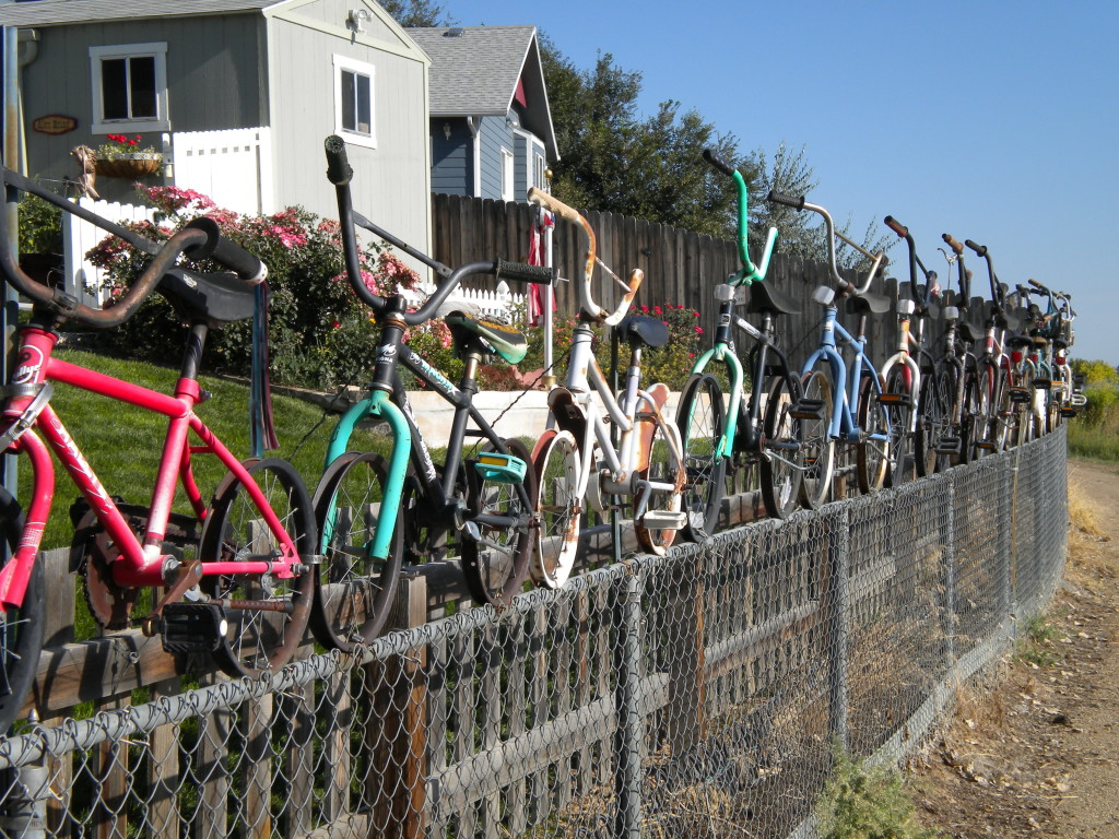 17-bicycle fence!!