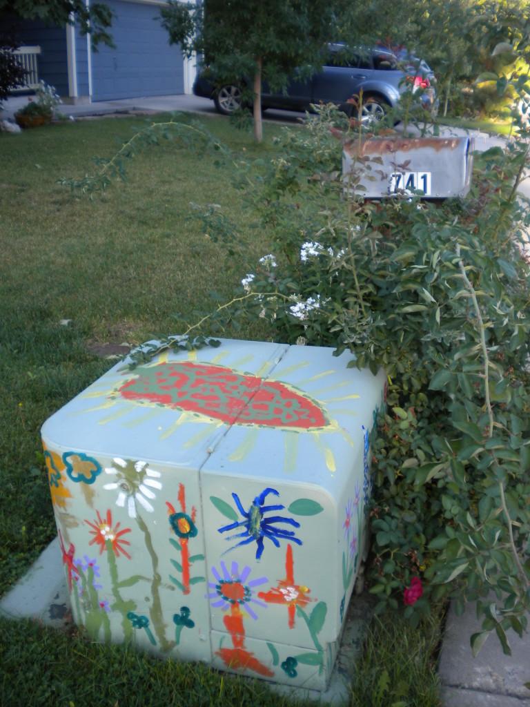 neighborhood electrical box painting