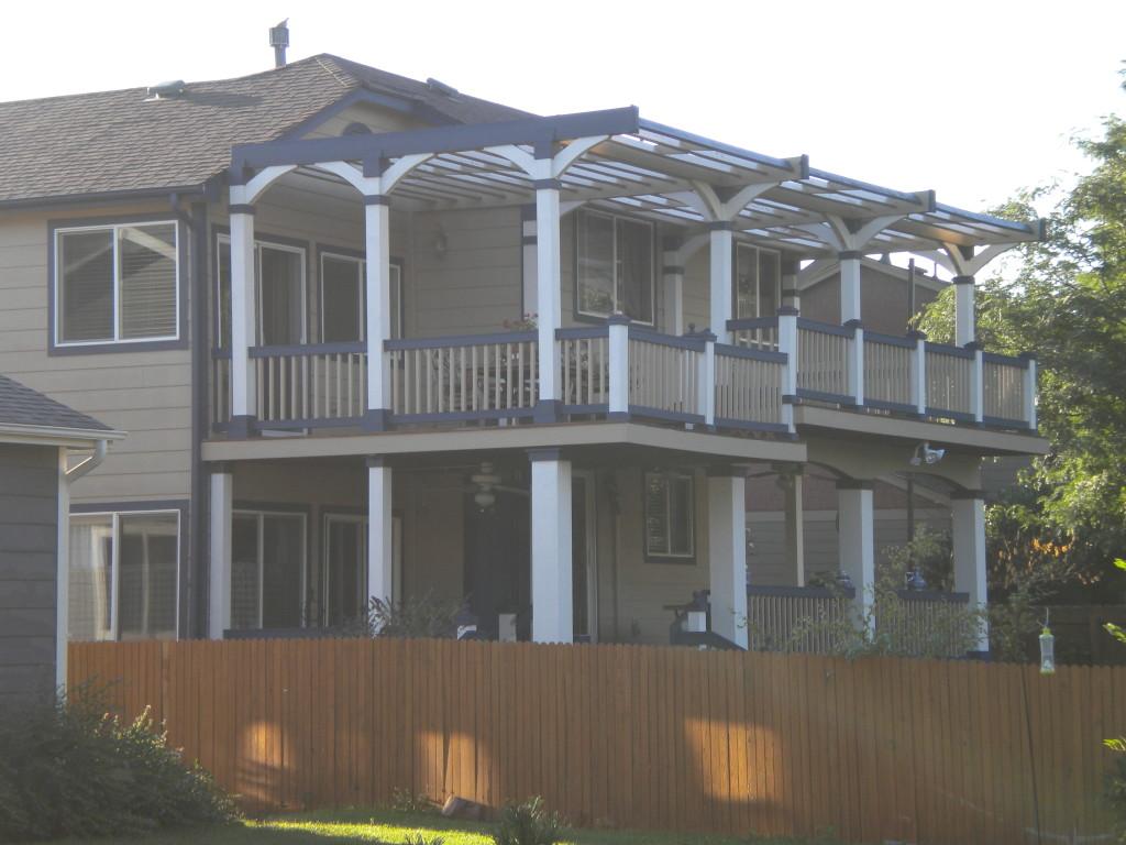 impressive back porch