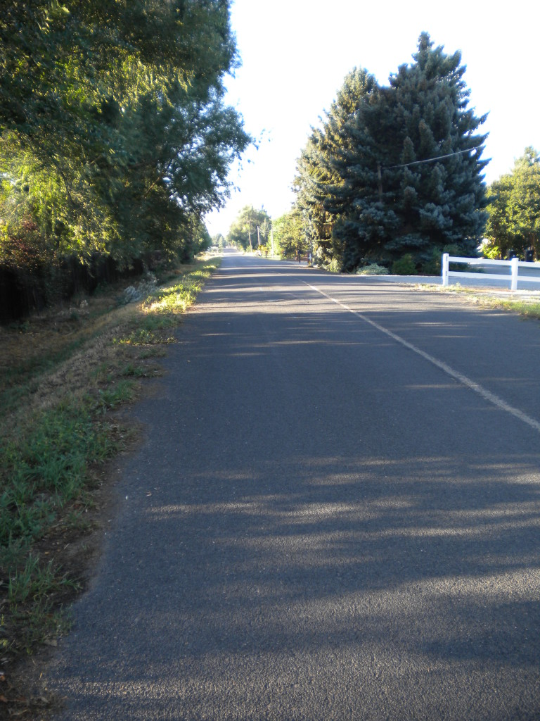 former country road (89th St.)