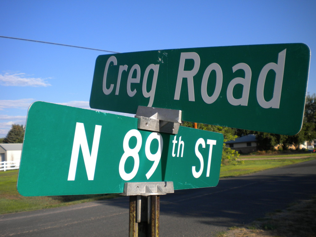 Is Creg a boy's name (like Greg and Craig combined?)