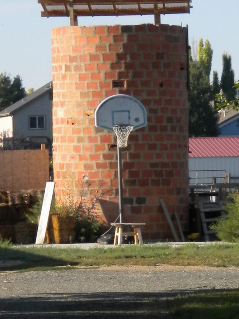 basketball on the farm