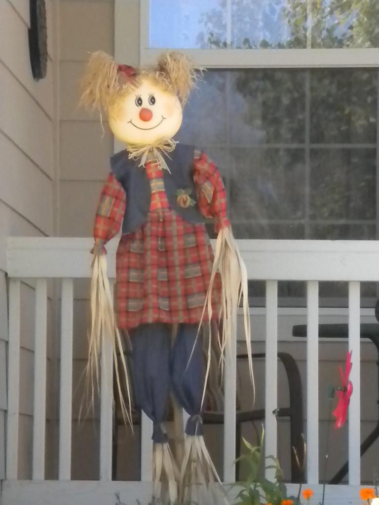 Lady scarecrow # 2