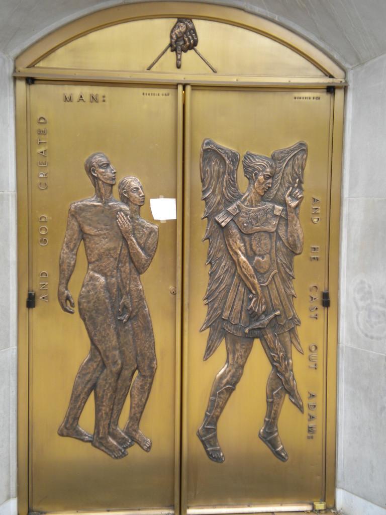 church door # 1