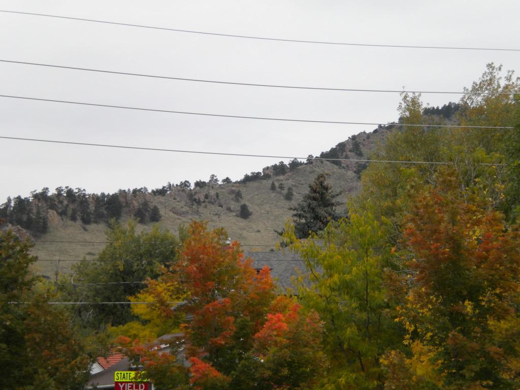heading toward Mt. Sanitas