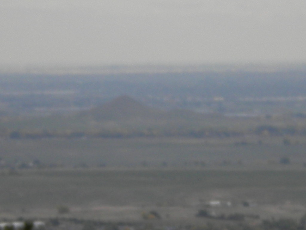 Haystack Mountain and Longmont off in the far hazy distance