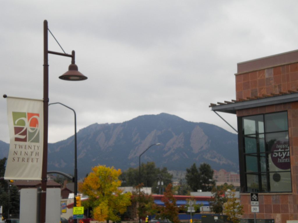 Flatirons from 29th