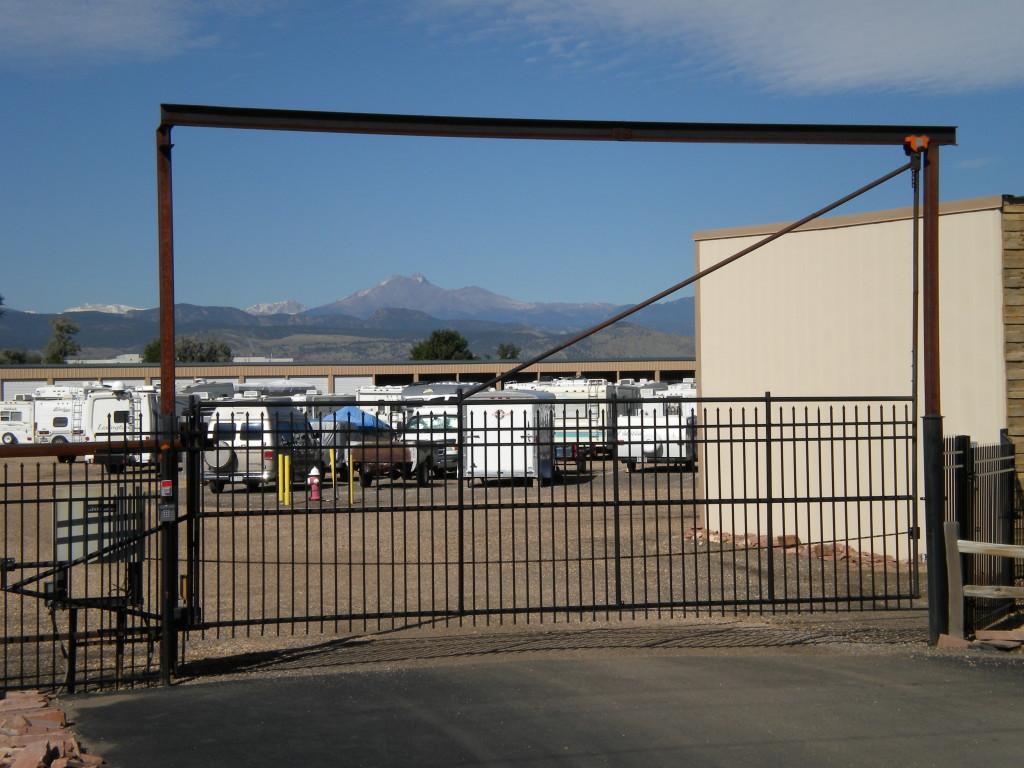 Long's Peak framed thru Andersen RV Storage