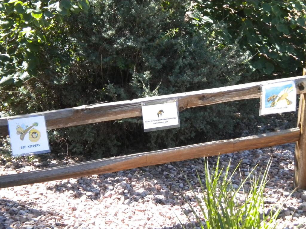 Beekeeper signs