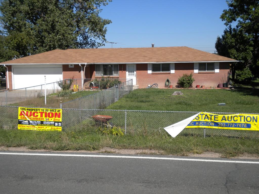 home auction a few daysago
