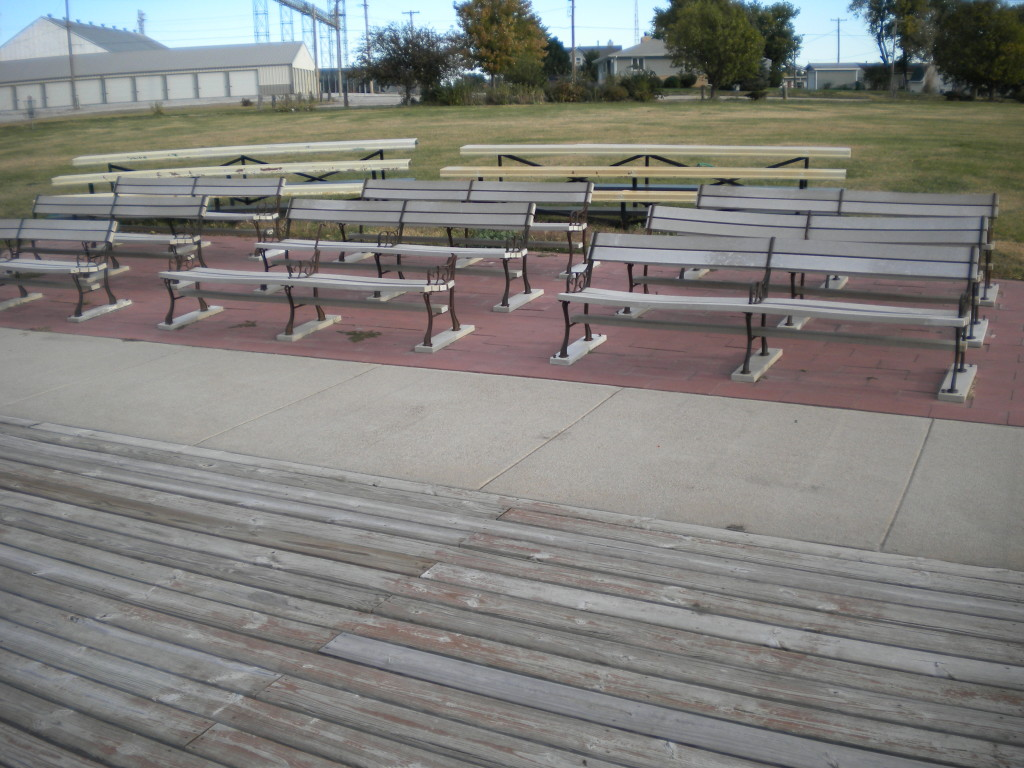 seating for the outdoor classroom