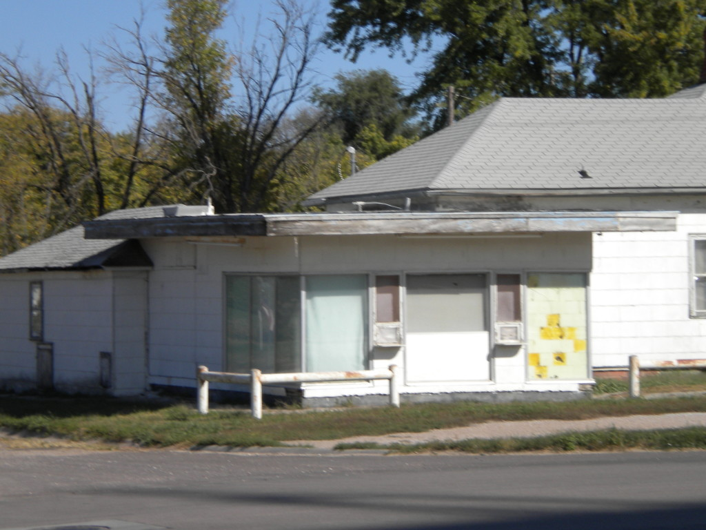 used to be the ice cream stand (Dairy King, was it?)