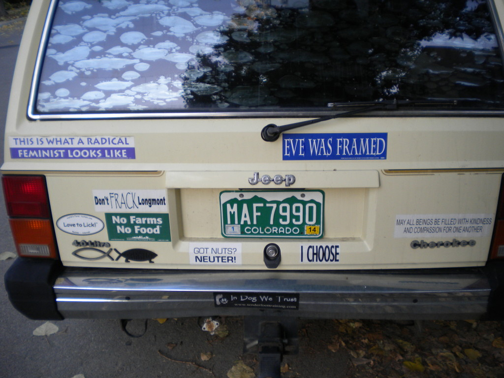 Bumper Stickers of the Day