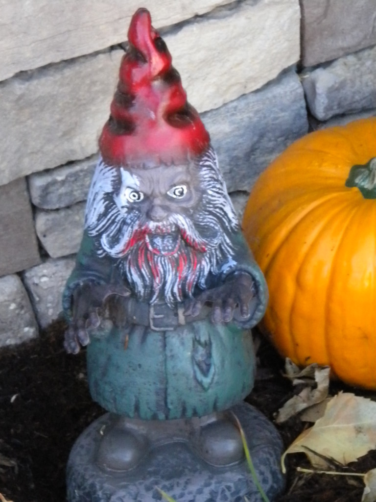 a little scarier than your  normal gnome