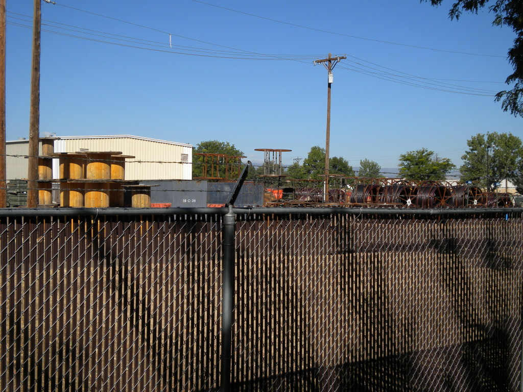 City of Longmont storage yard