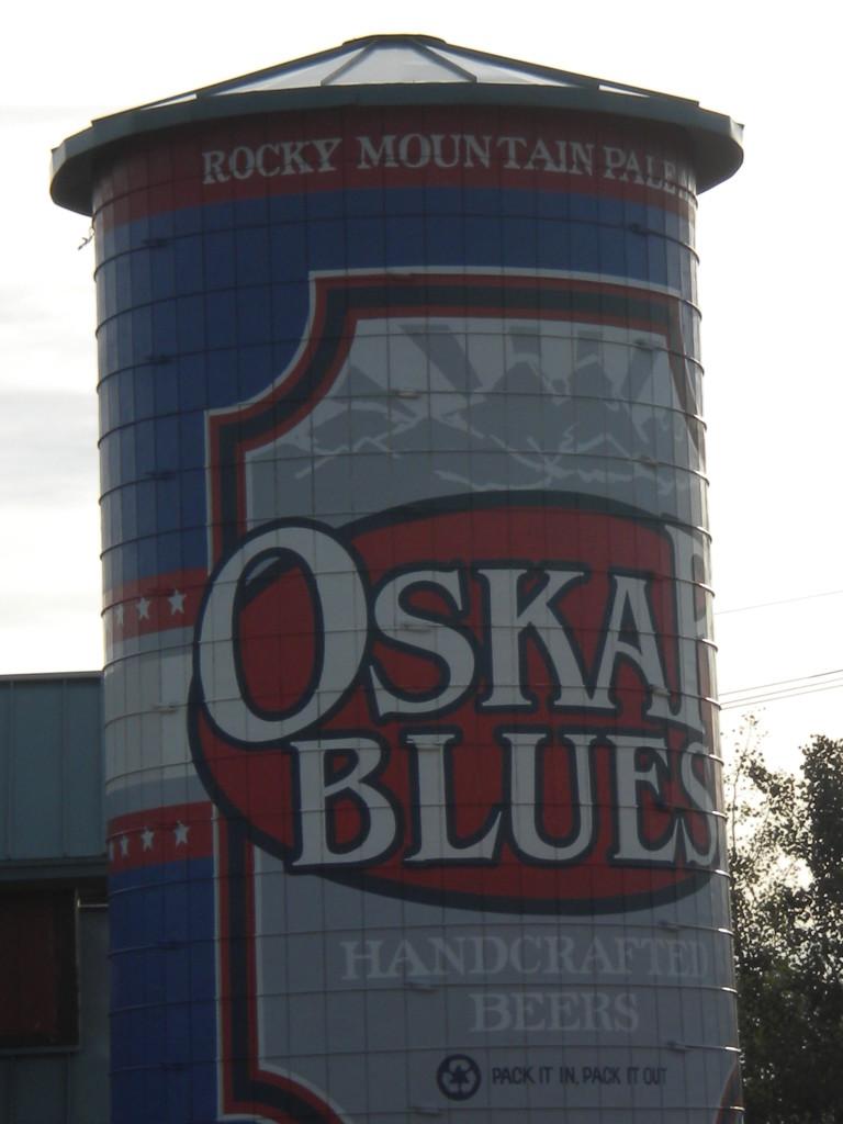 Oskar Blues silo