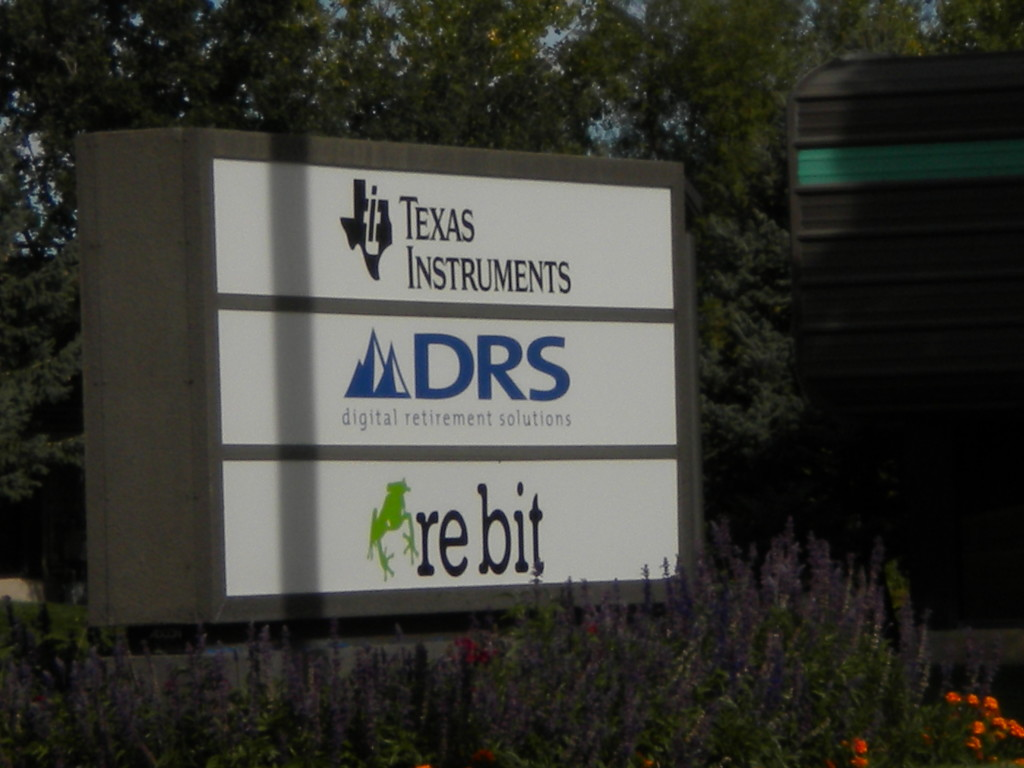 TI, Digital Retirement, and re bit (wonder what that is?  -- recycled data??!?)