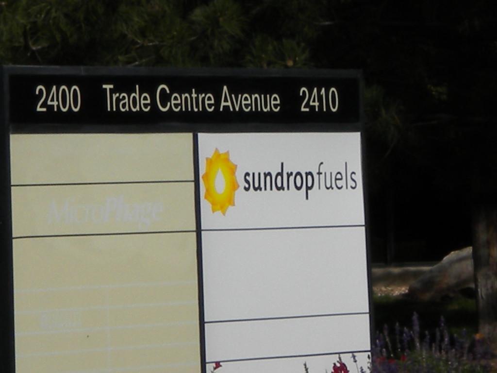 Sundrop fuels (solar?)