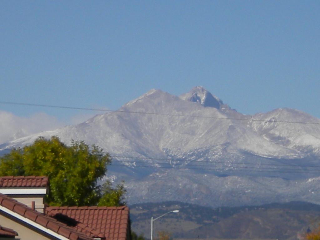 Long's Peak 3 (a sprinkling of snow)