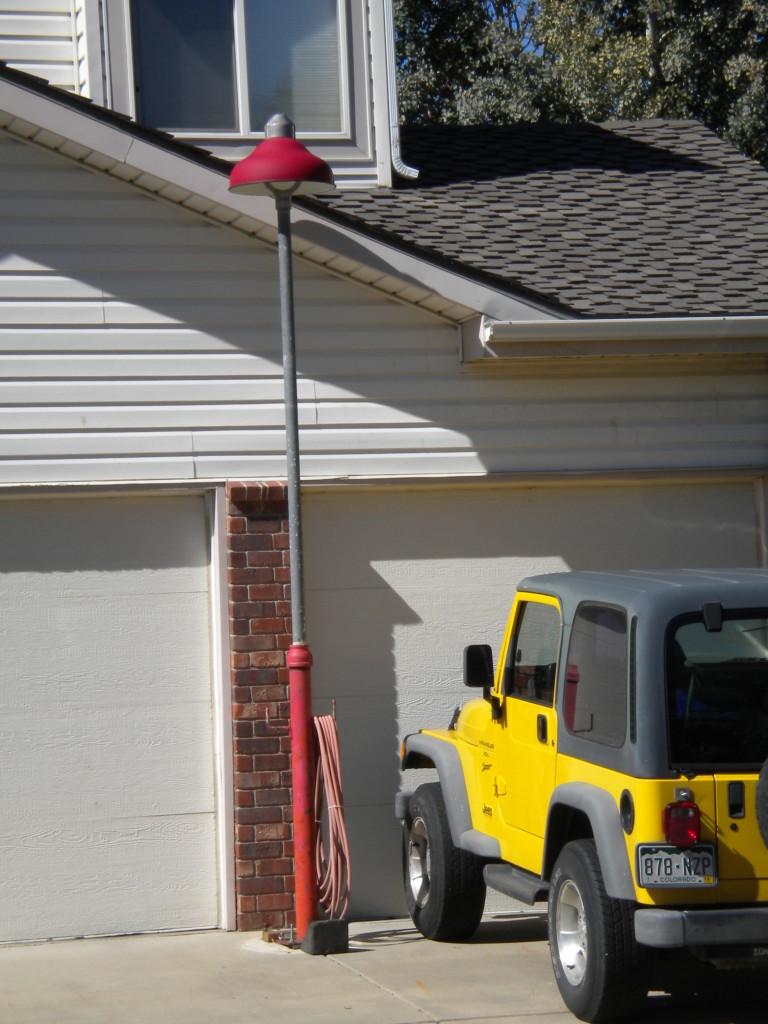 driveway air pump?