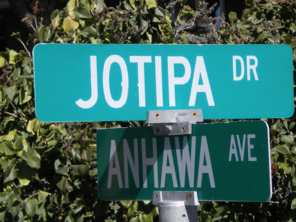 Intersection of Jotipa and Anhawa