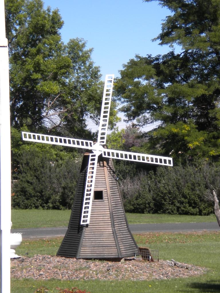a Dutch windmill?