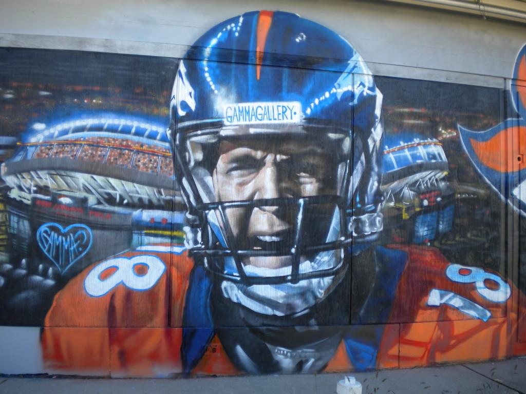 Peyton Manning # 8