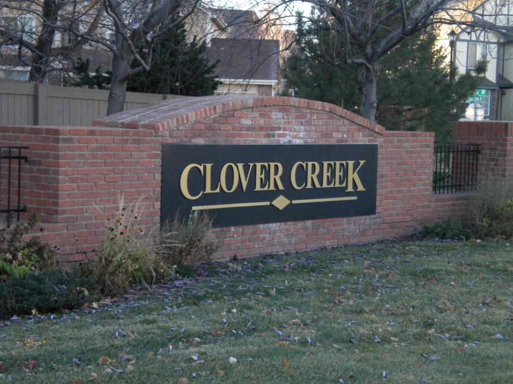 Clover Creek neighborhood
