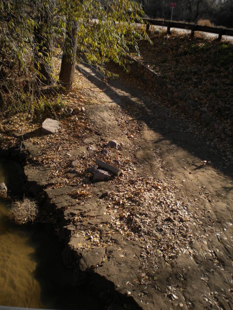flood wash-out on Lefthand Creek