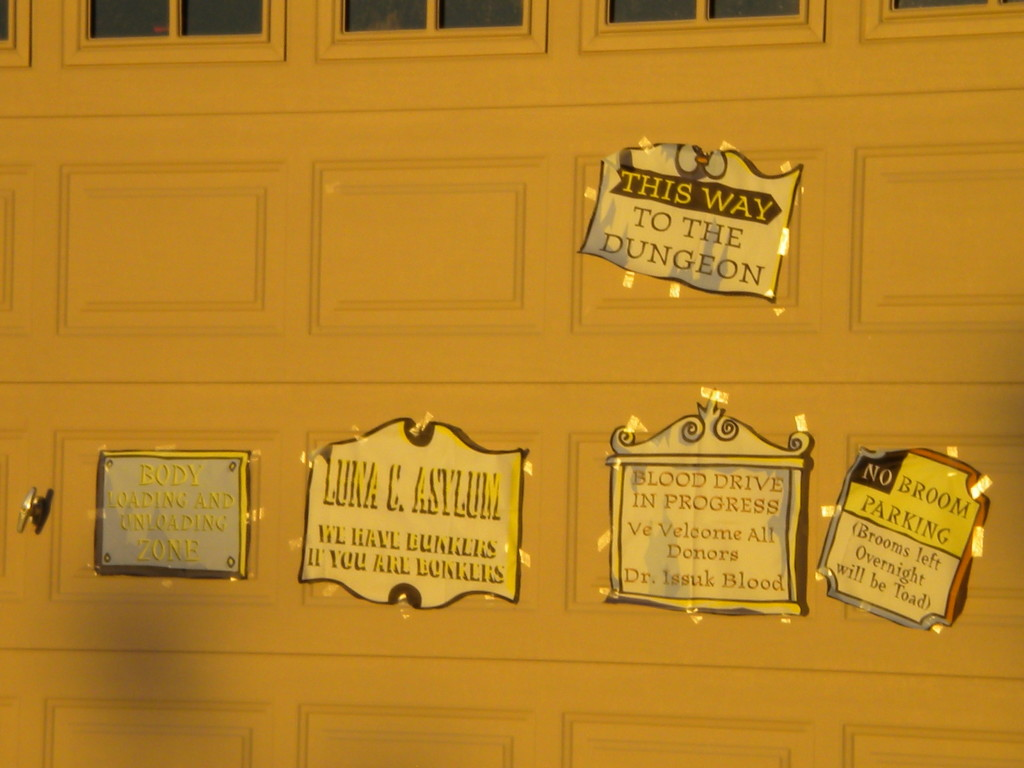 Halloween signs # 3