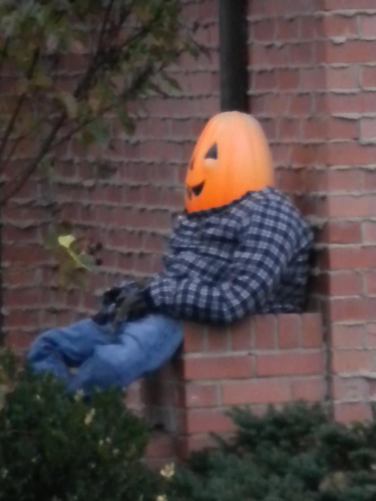 Jack Pumpkinhead lounging