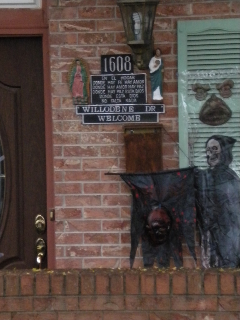 scary entryway