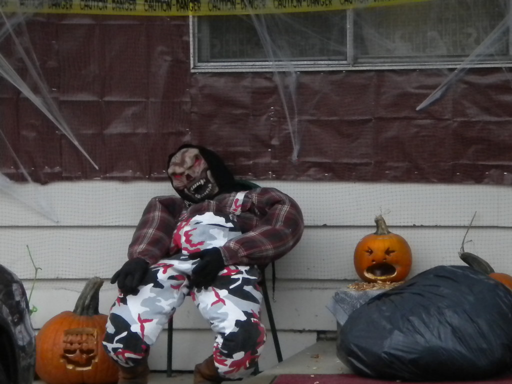scary porch