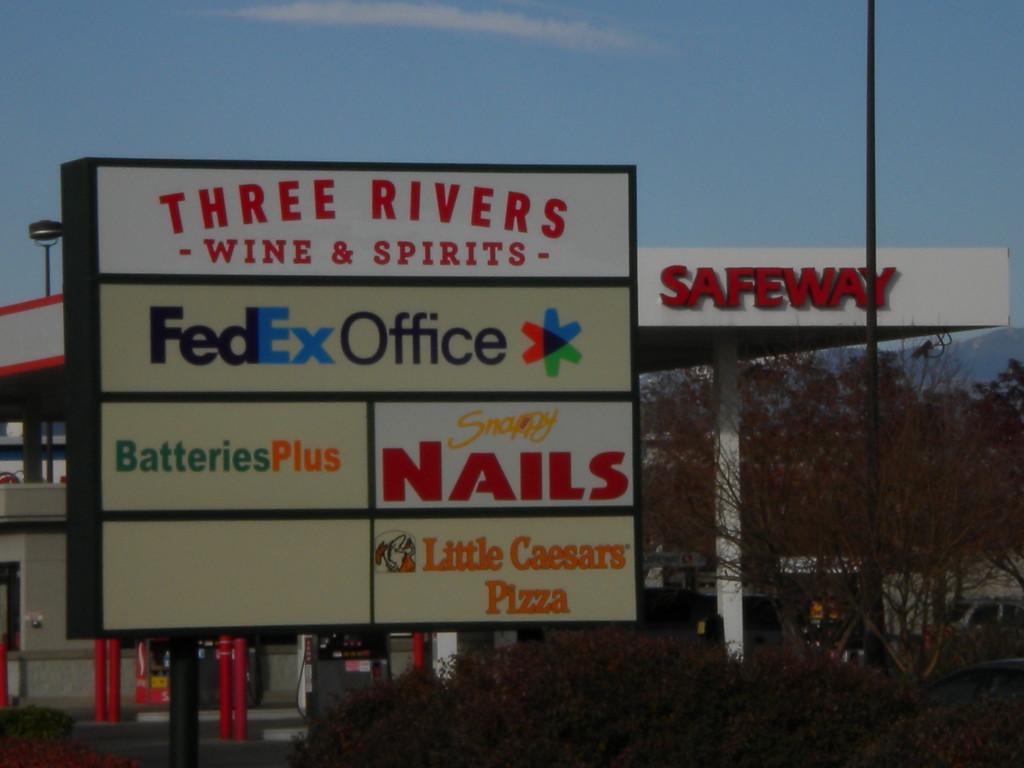 shopping center businesses
