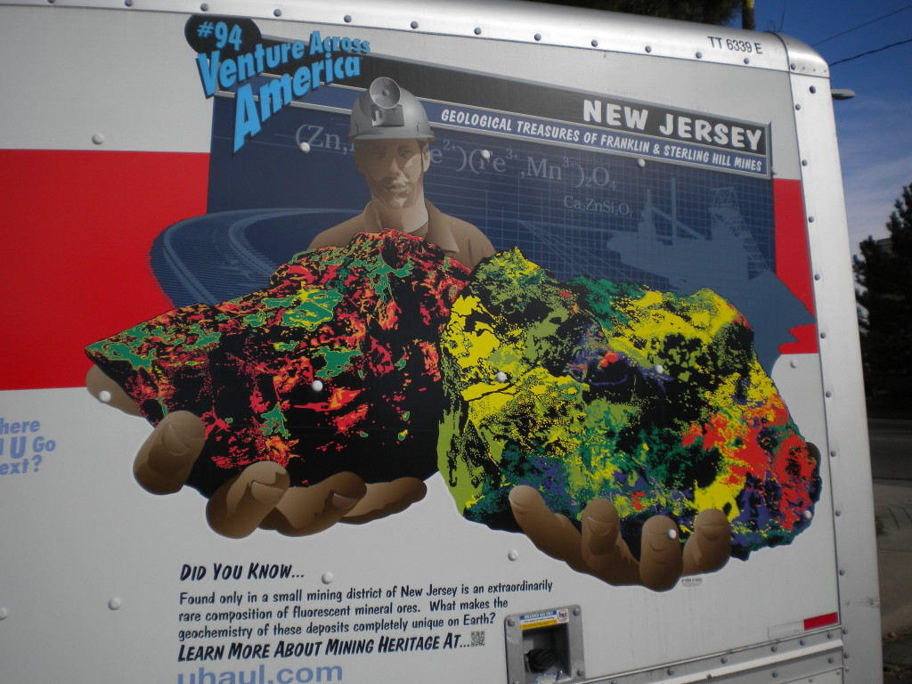 New Jersey unique minerals