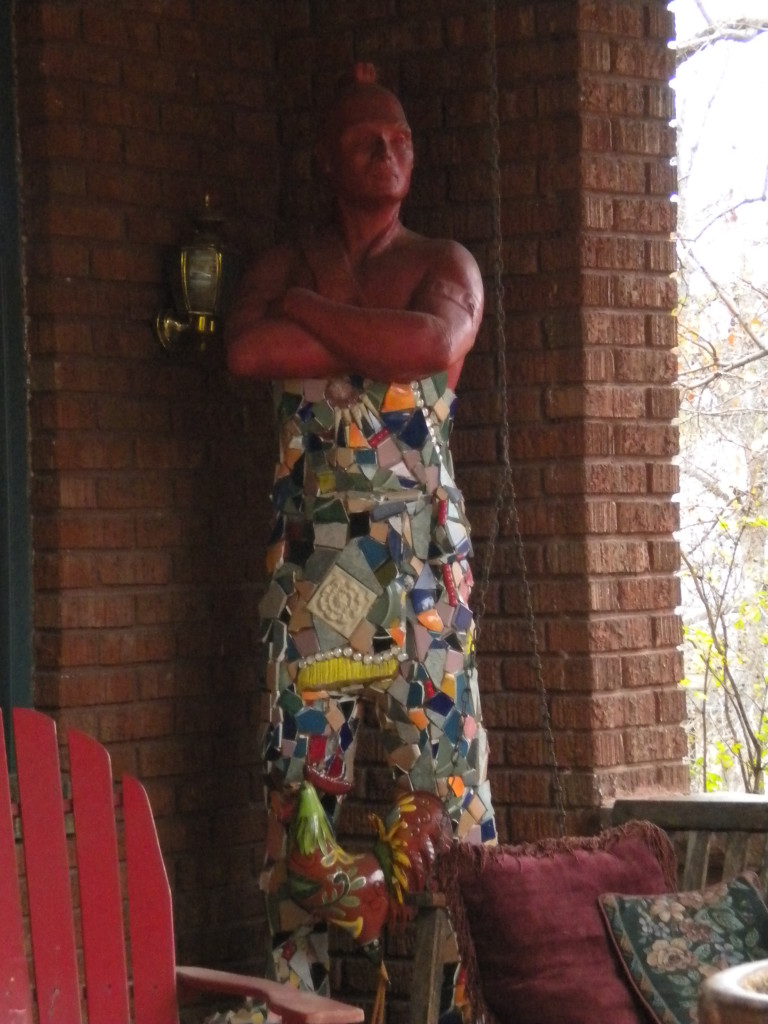 Awesome Front Porch Genie (or Mr. Clean?)