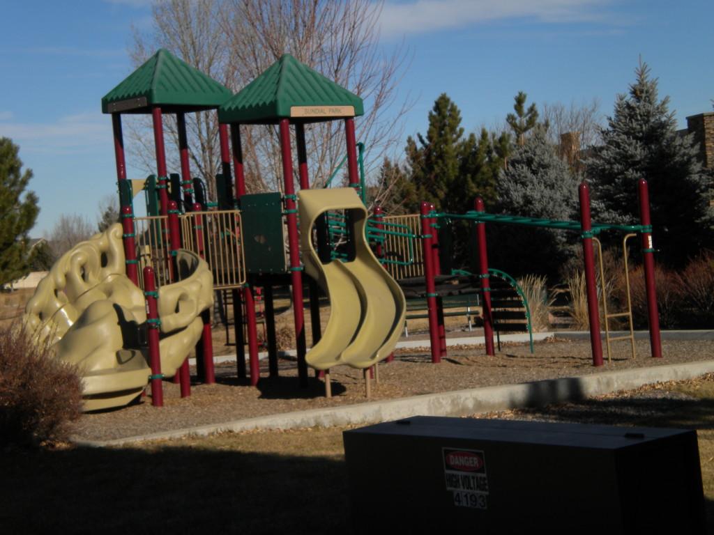 Sundial playground