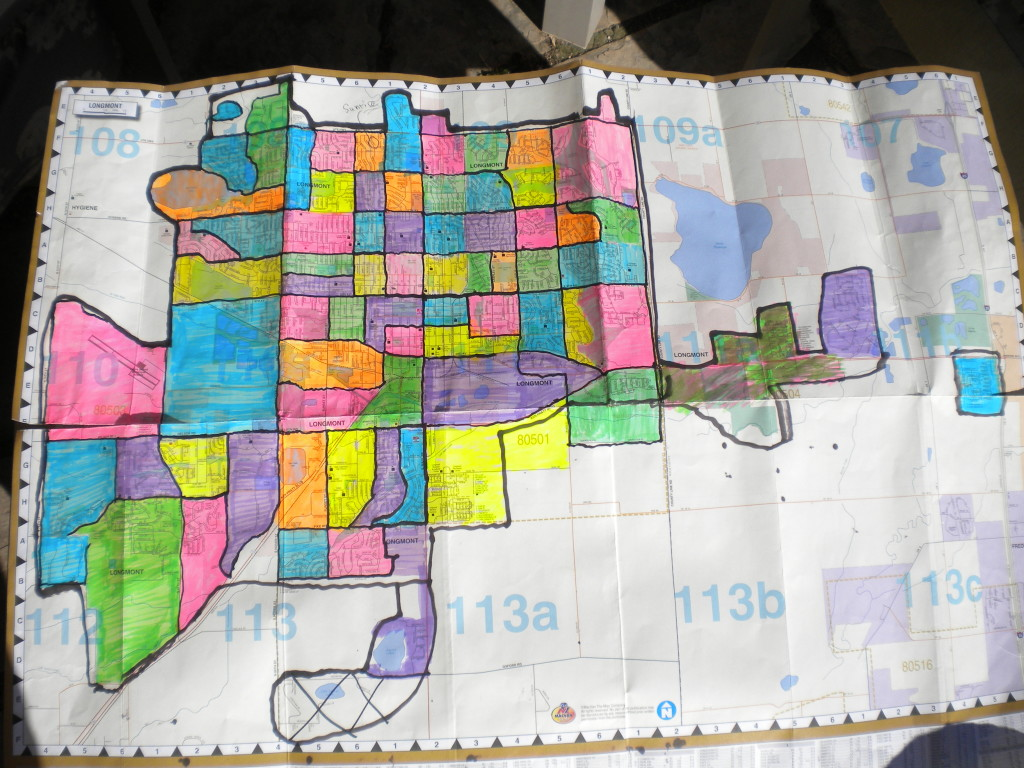 All 71 neighborhoods colored in!!!