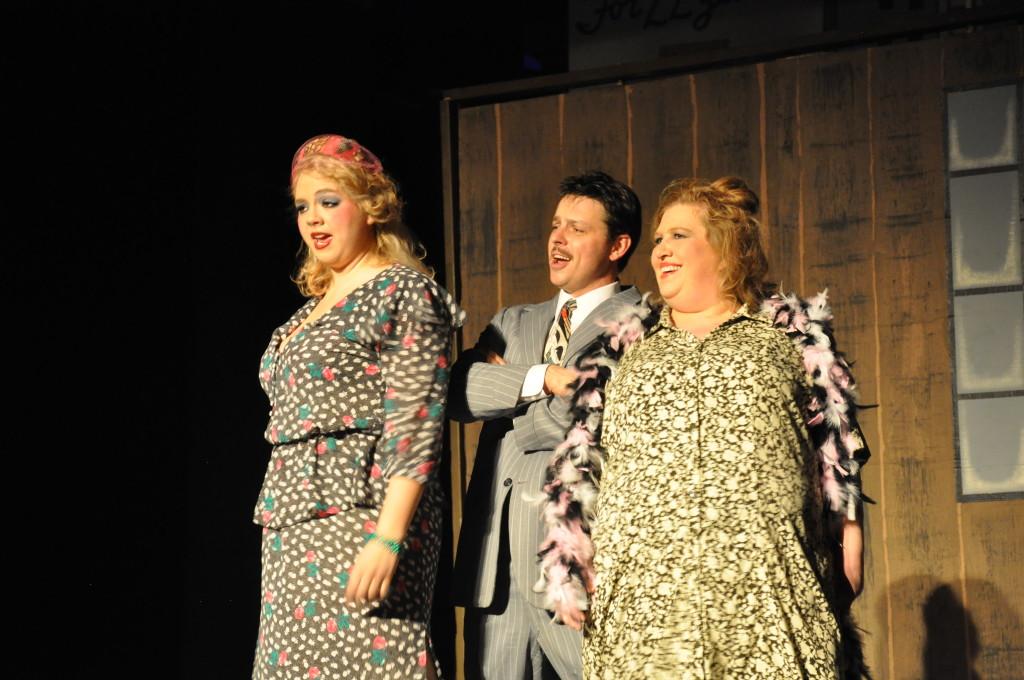 Lili St. Regis & Rooster plot with Miss Hannigan