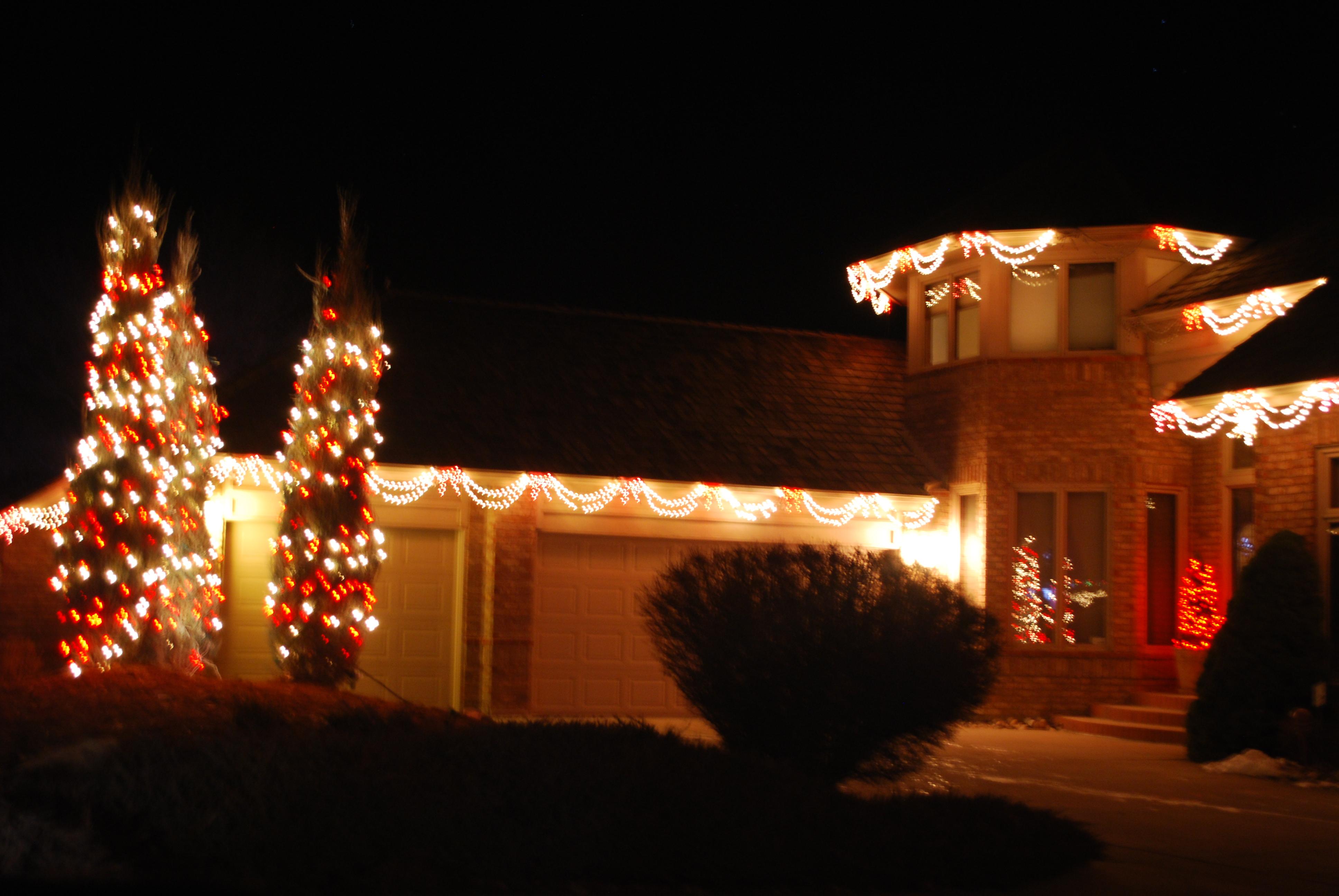 Longmont Street Walker | Digression – Christmas Lights