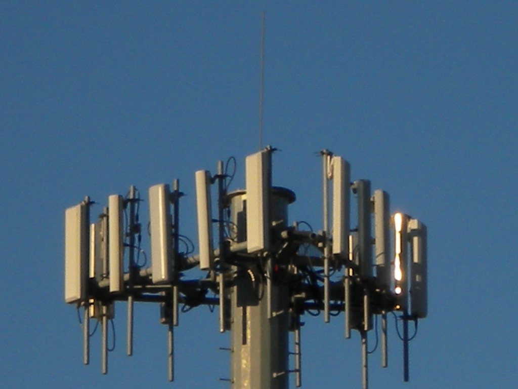 microwave tower?