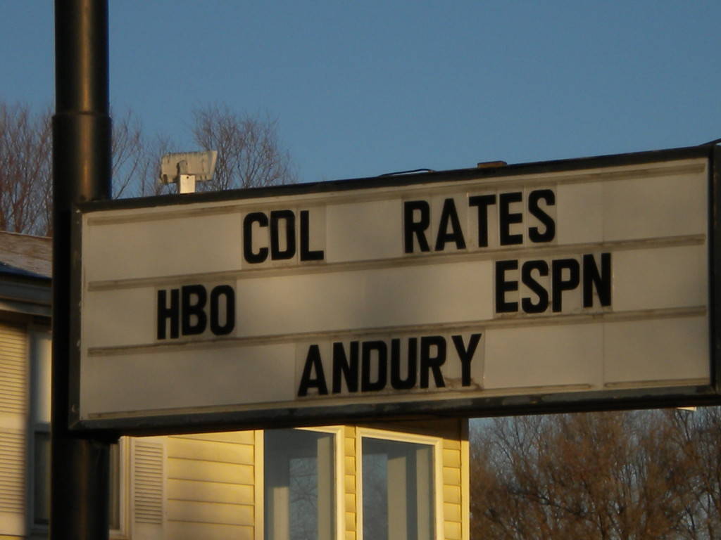 not sure what 'COL RATES' are; plus, failed attempt to spell 'Laundry'?