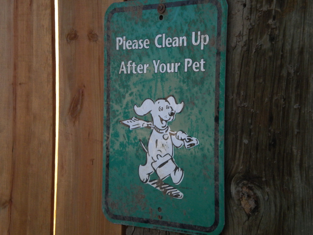 dog warning sign # 2