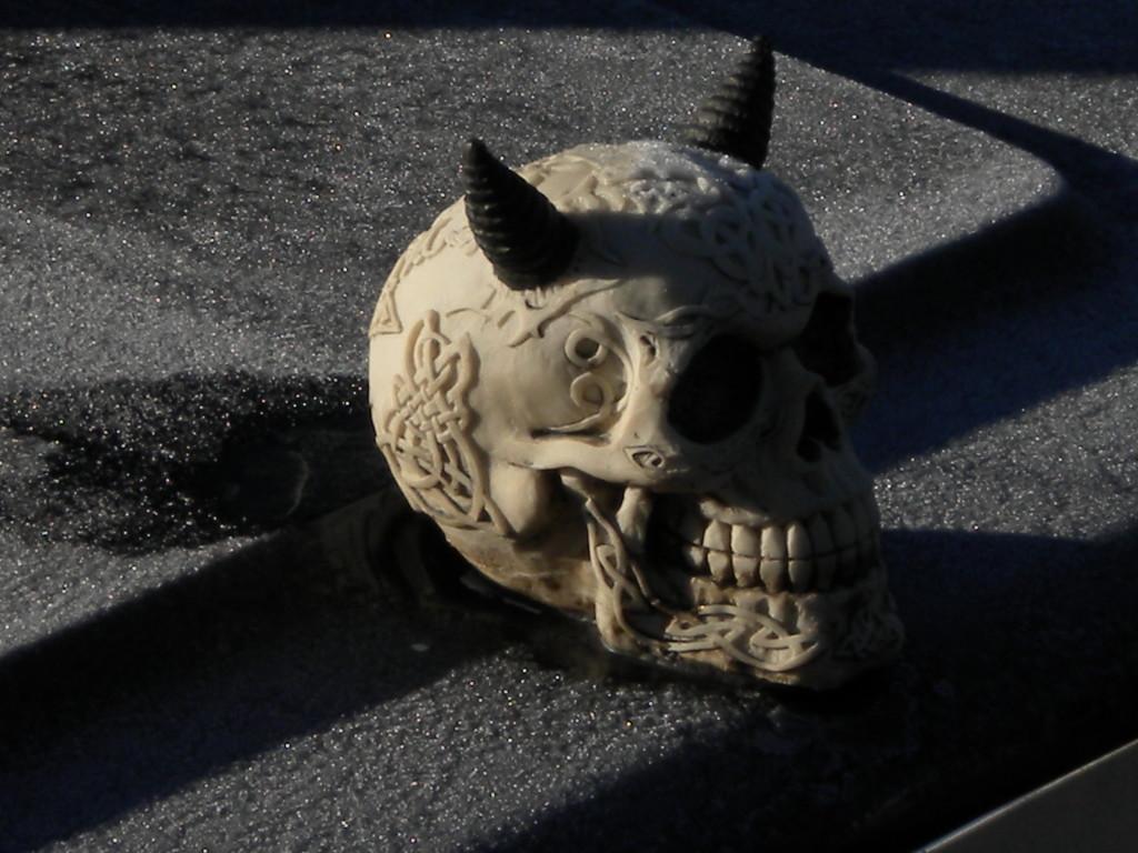 scary hood ornament