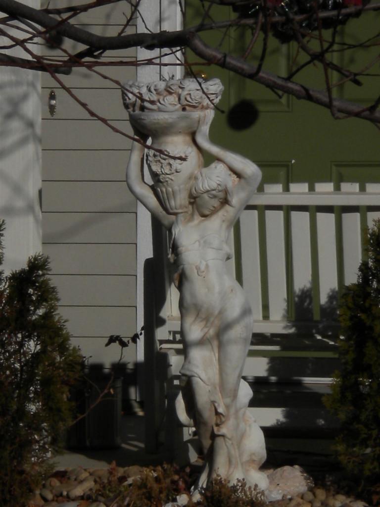 lawn statue